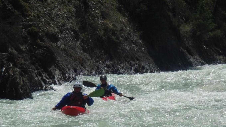 Toby Creek- Kayaking