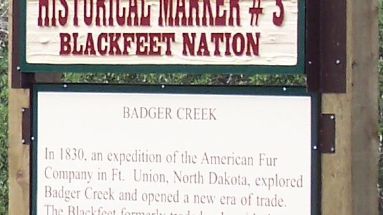 Badger Creek – Blackfeet Planning
