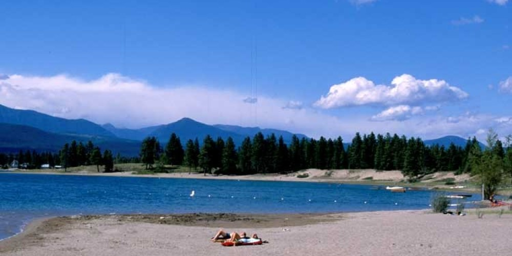 Wasa Lake offers 4 large lake-side day-use areas. – Don Weixl