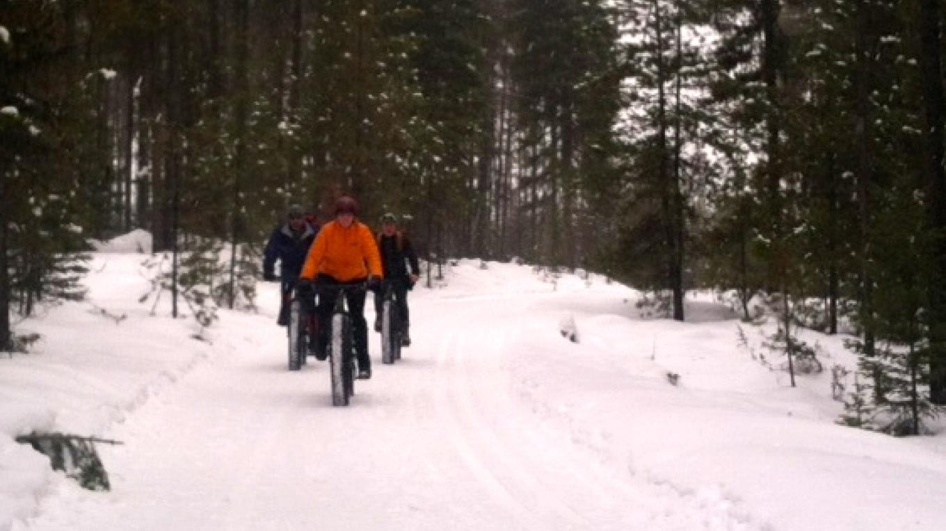 Fat Biking Close To The Whitefish Bike Retreat – Cricket Butler