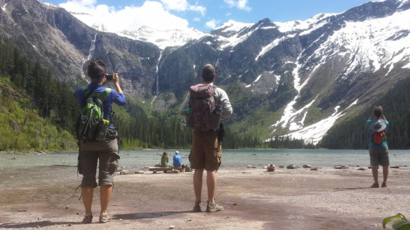 Avalanche Lake in Summer – Sheena Pate