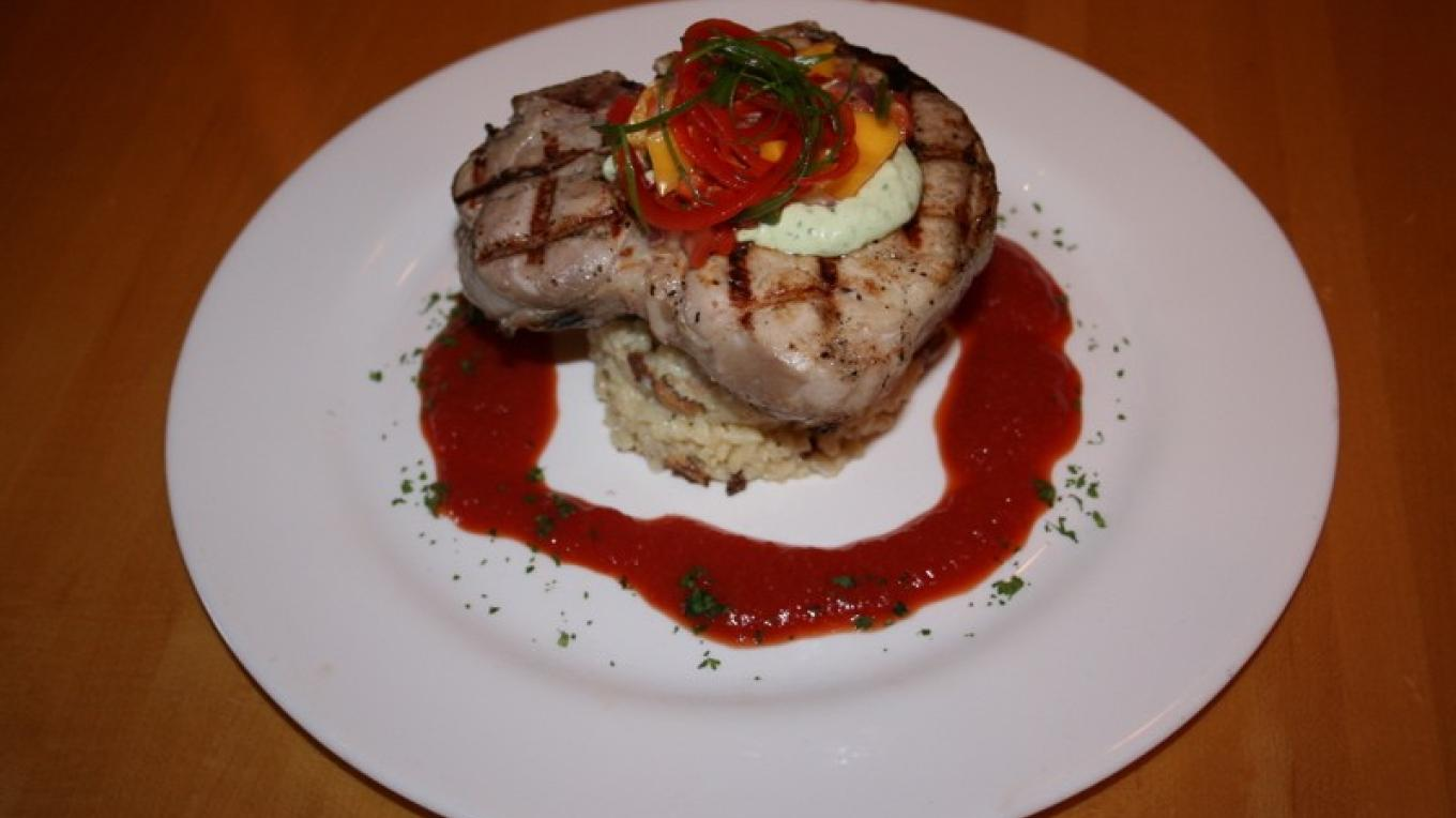 An example of the amazing and creative food experienced at Tupelo's. – John Frandsen
