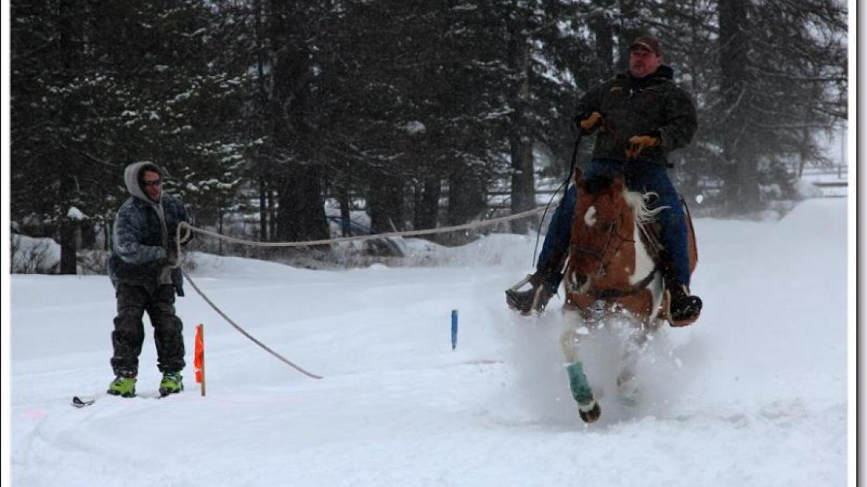 2015 Ski Joring Practice – Marguerite Amstadt