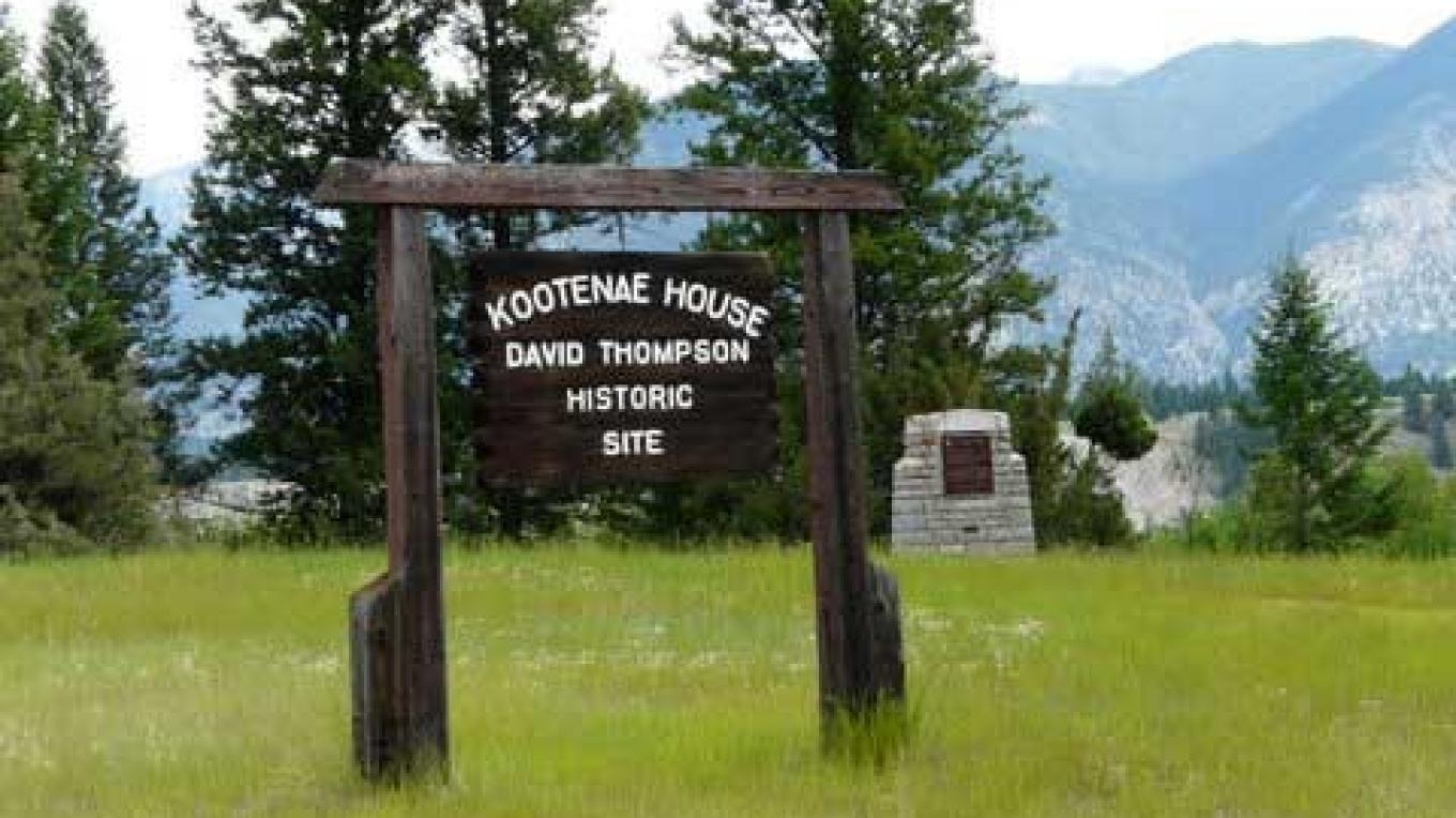 Site of Kootenae House near Invermere. – Ruth Martens