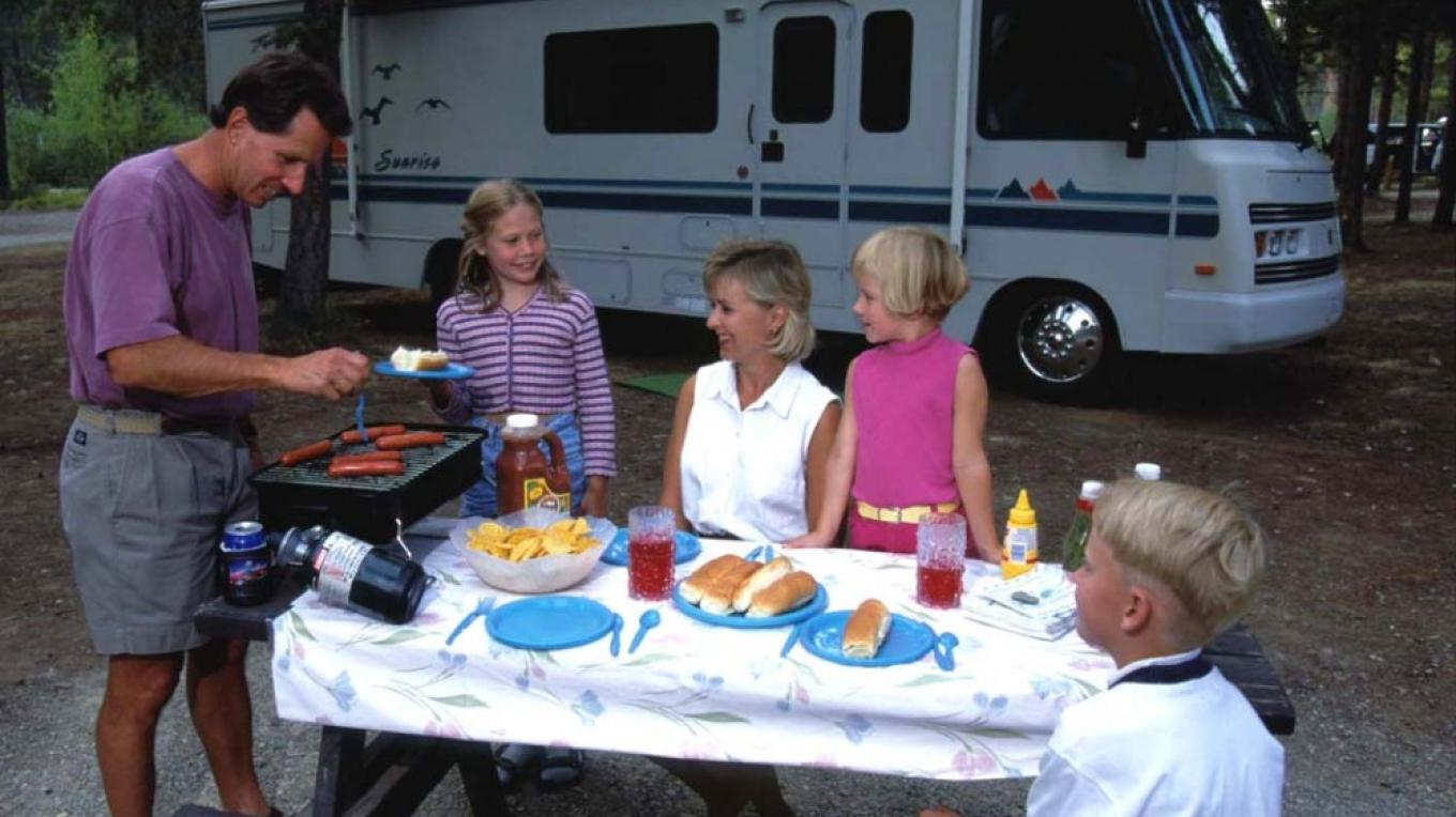 There are many wonderful picnic and camping spots along the route. – Don Weixl
