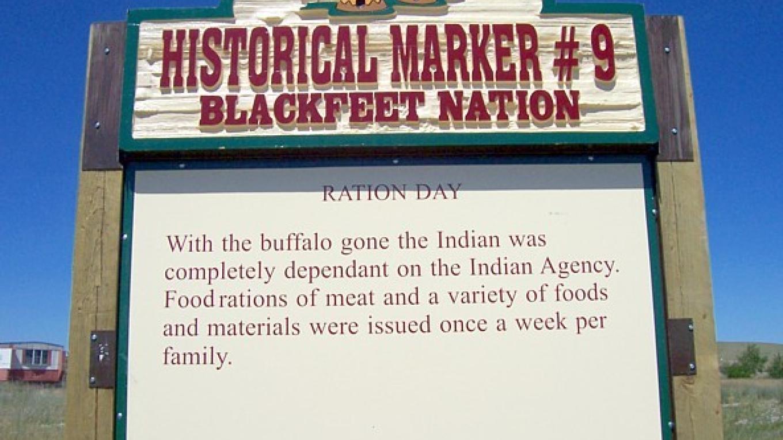 Ration Day – Blackfeet Planning