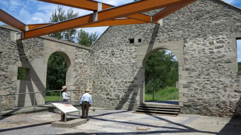 Leitch Collieries Provincial Historic Site – Courtesy Frank Slide Interpretive Centre
