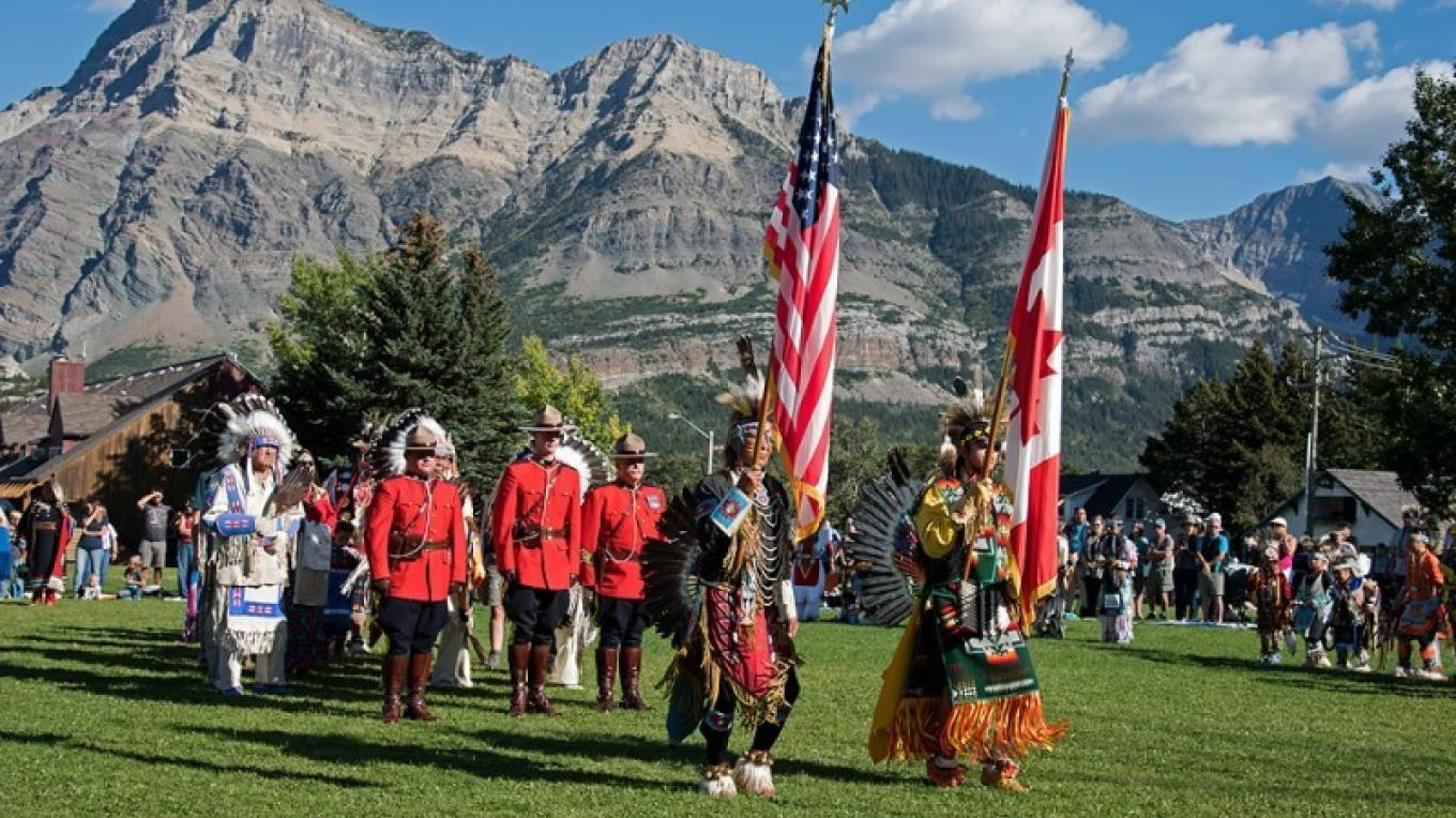 Blackfoot Arts and Heritage Festival – Trevor Page