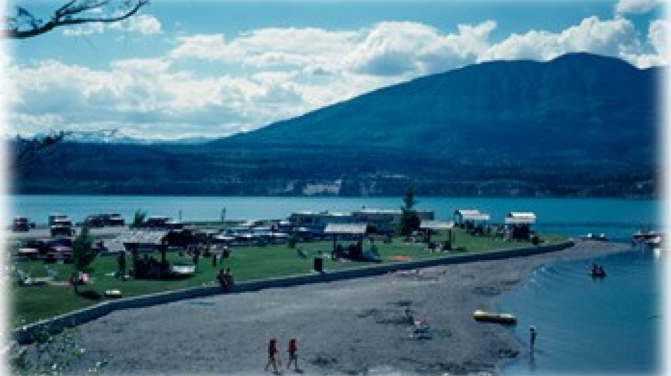 Canal Flats Provincial Park Day Use Area – Courtesy BC Ministry of Environment