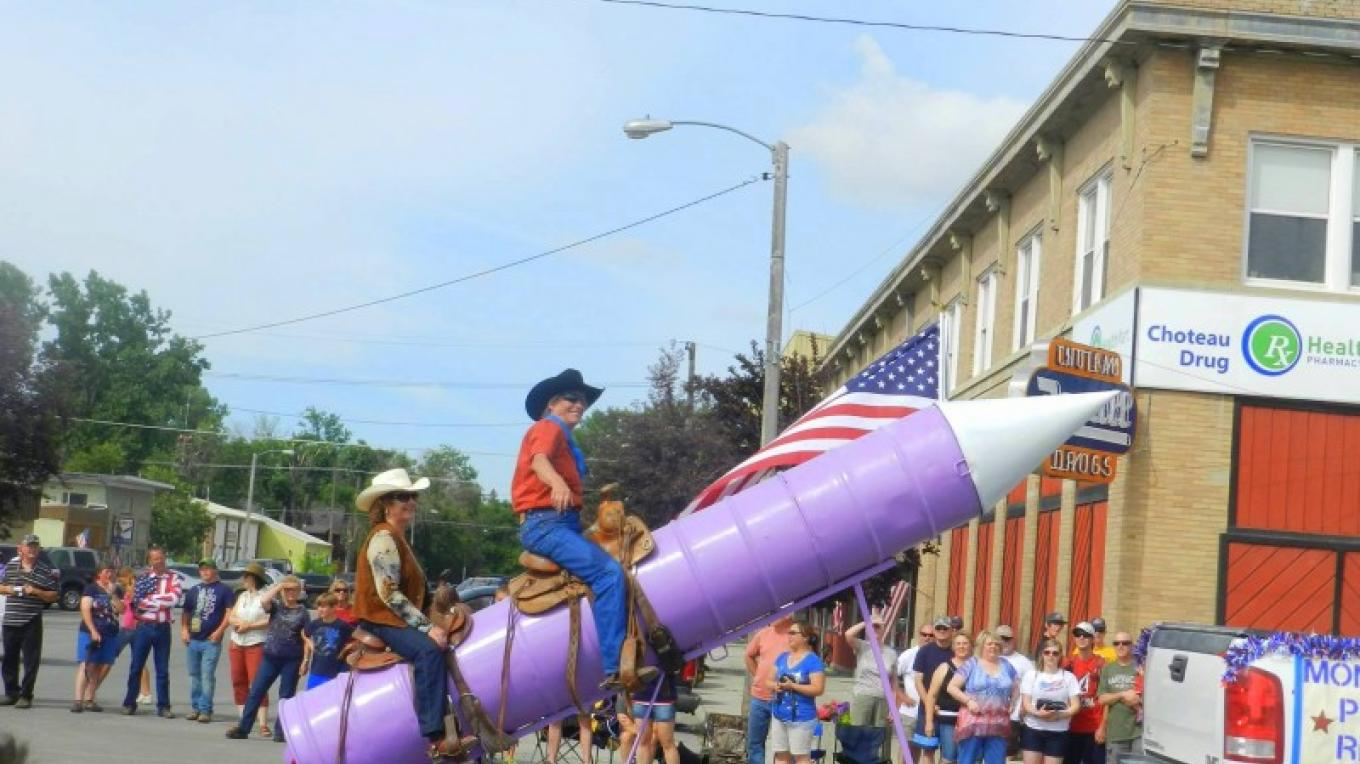Fourth of July Parade – Courtesy Choteau Chamber of Commerce