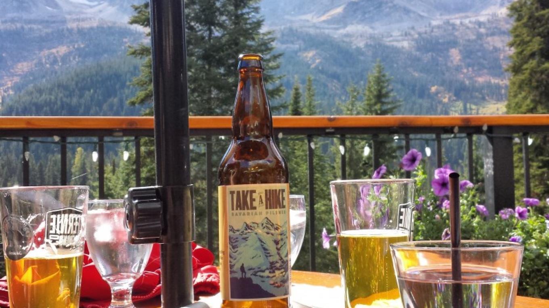 Island Lake Lodge's Bear Lodge Patio – Sheena Pate