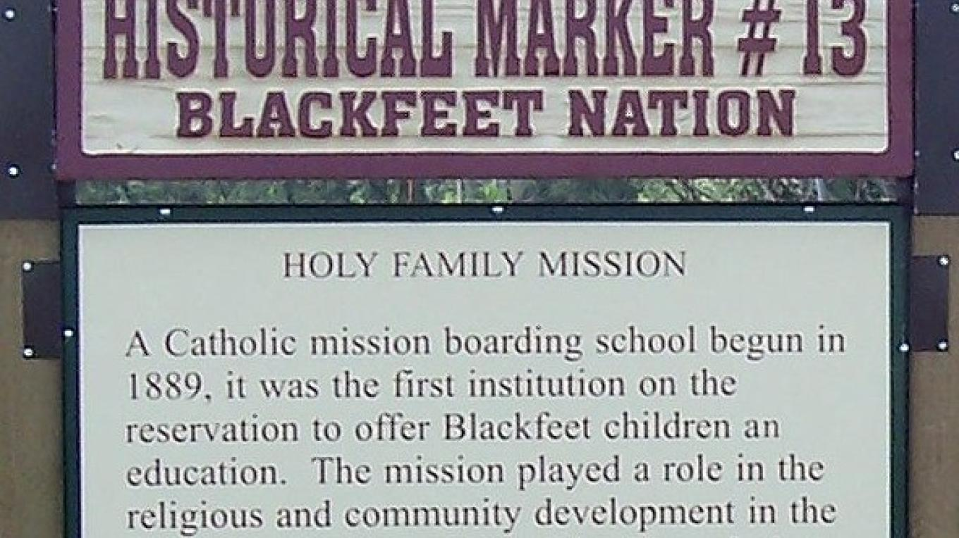 Holy Family Mission – Blackfeet Planning