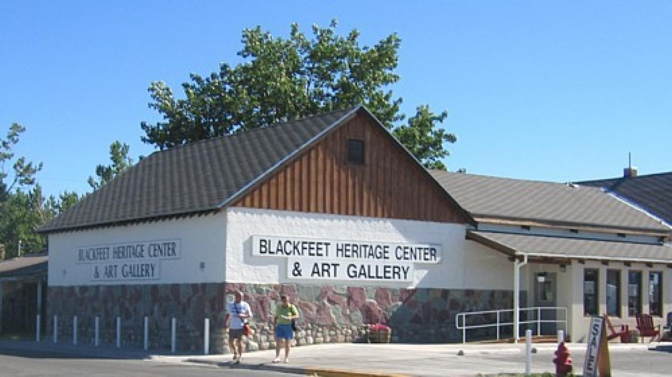 Welcome to the Blackfeet Heritage Center & Art Gallery. – Colleen's Computer Corner, LLC