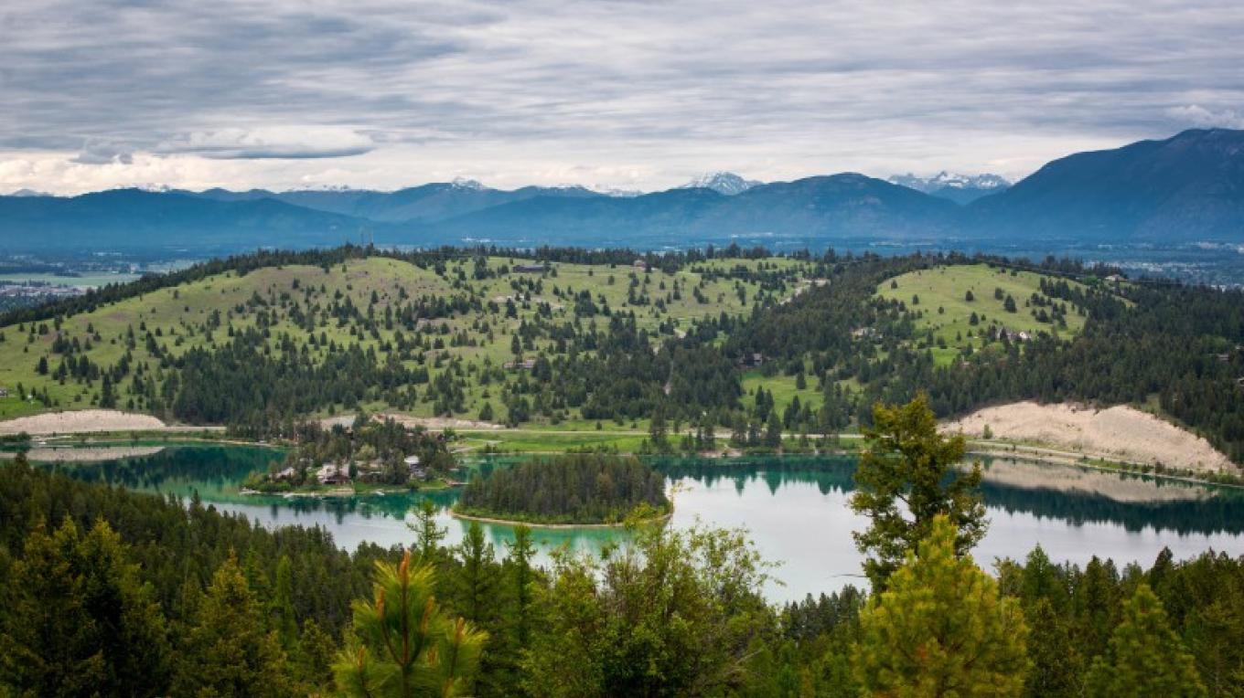 View of Foy's Lake from trail. – Matt Gibson