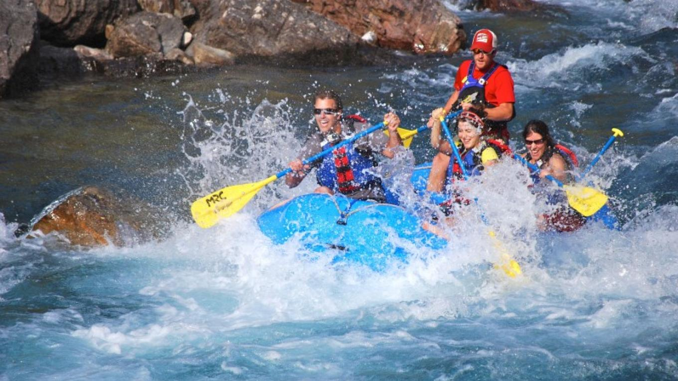 Whitewater Rafting on the Middle Fork of the Flathead River. – Courtesy Montana Raft Co