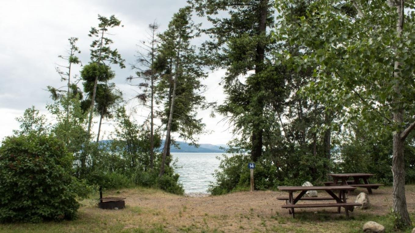 Blue Bay on Flathead Lake Campground – Sheena Pate