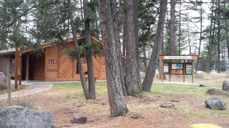 Placid Lake State Park Entrance