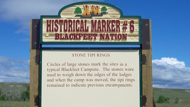 Stone Tipi Rings – Blackfeet Planning