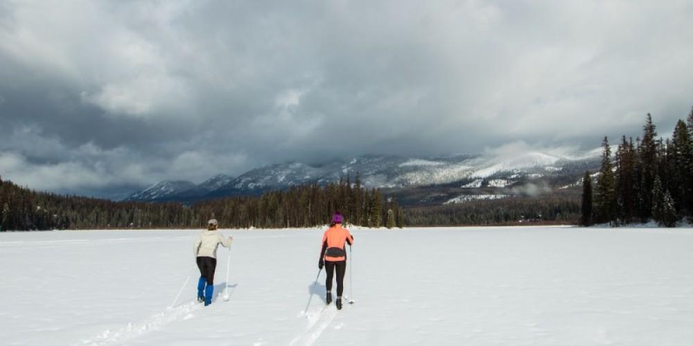 Dog Creek Nordic Trails across Dog Lake – Sheena Pate