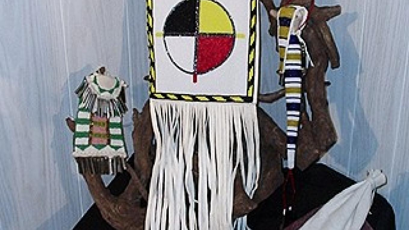 Stop at the Blackfeet Heritage Center to see all the handcrafted items on display and for sale. – Blackfeet Heritage Center & Art Gallery