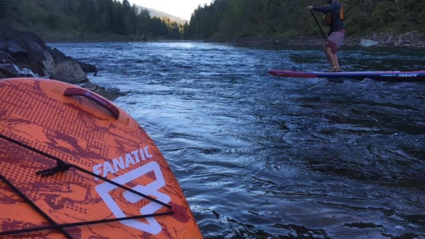 Middle Fork of the Flathead River with Great Northern Whitewater Raft