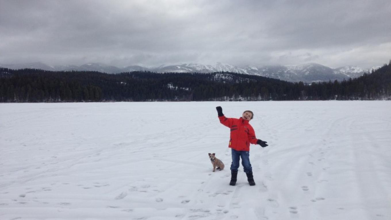 Exploring Out On The Frozen Beaver Lake – Cricket Butler