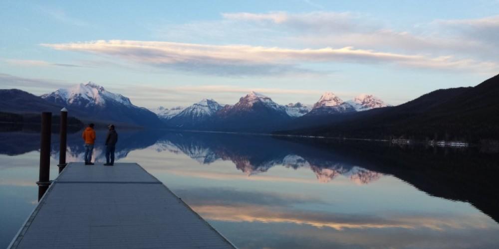 Lake McDonald dock located in between Apgar Campground and Apgar Village. – Sheena Pate