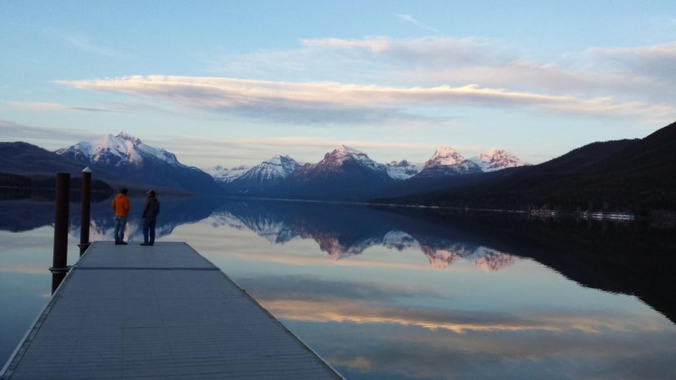 Lake McDonald dock located in between Apgar Campground and Apgar Village. – Sheena Pate