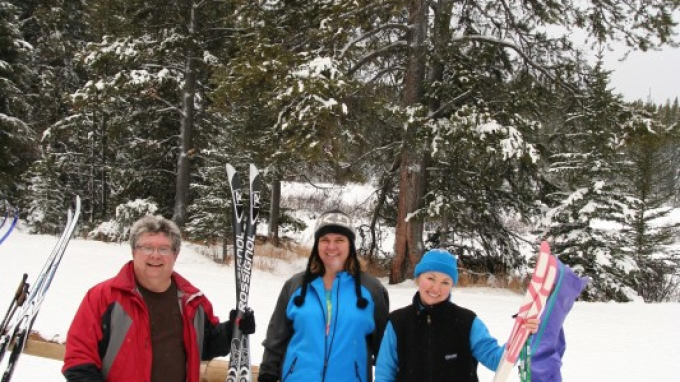 A great day of skiing at Pocaterra in Peter Lougheed Provincial Park! – Julie Walker