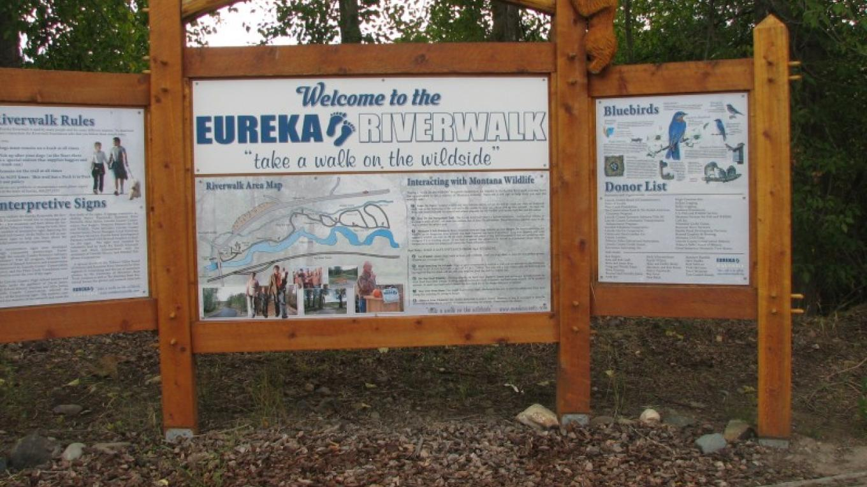 River Walk Enterance – Eureka Area Chamber