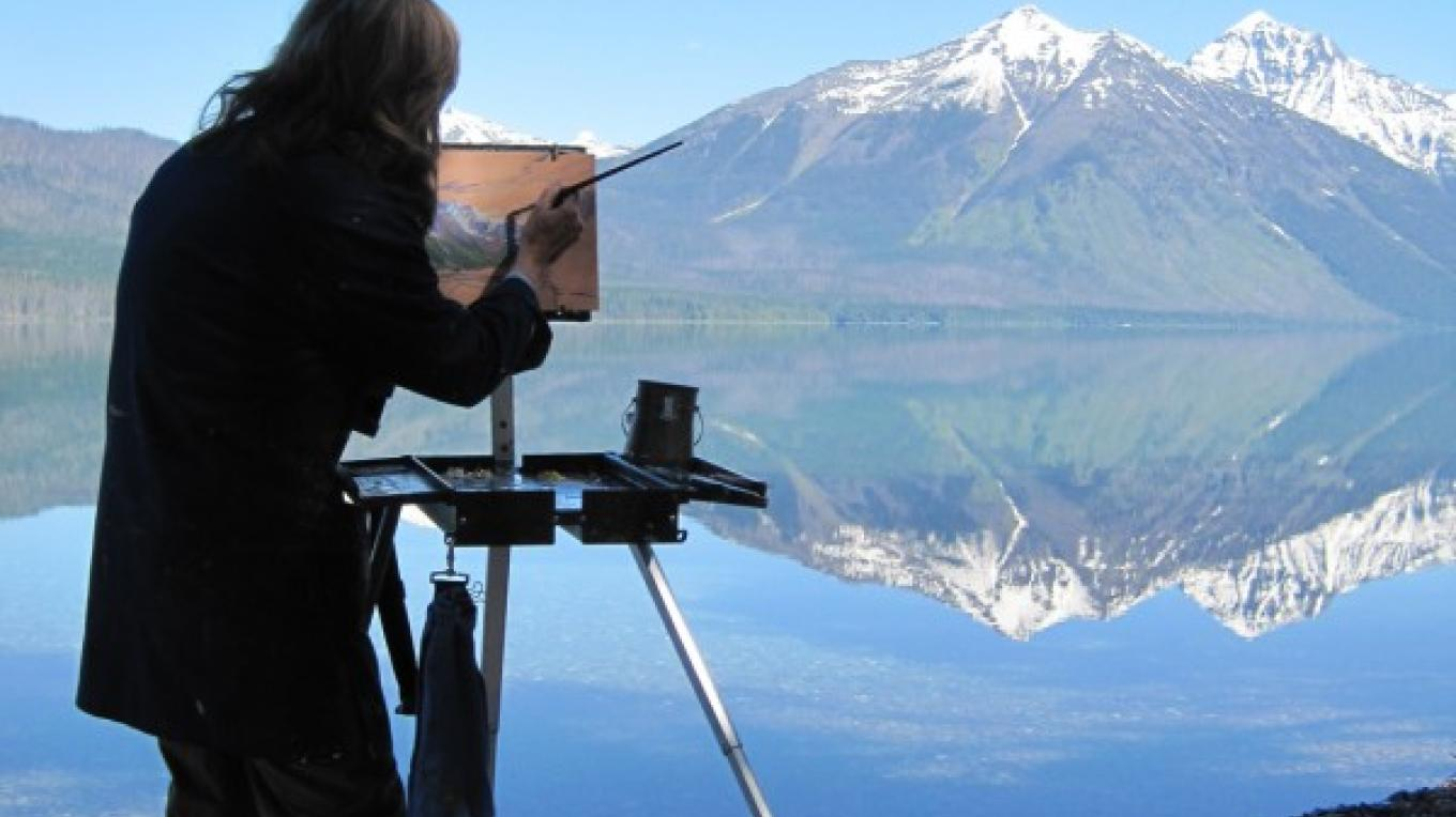 Glacier National Park inspires many artists.  The Hockaday is pleased to feature the works of local Montana artists in its exhibitions and events. – Brian F. Eklund