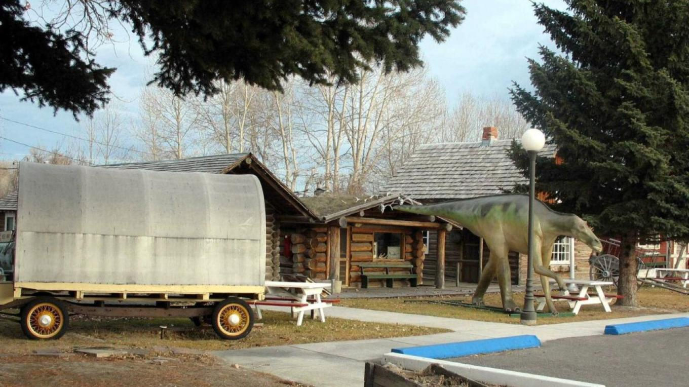 Sheepherder's Wagon at the Old Trail Museum – Dave Wedum