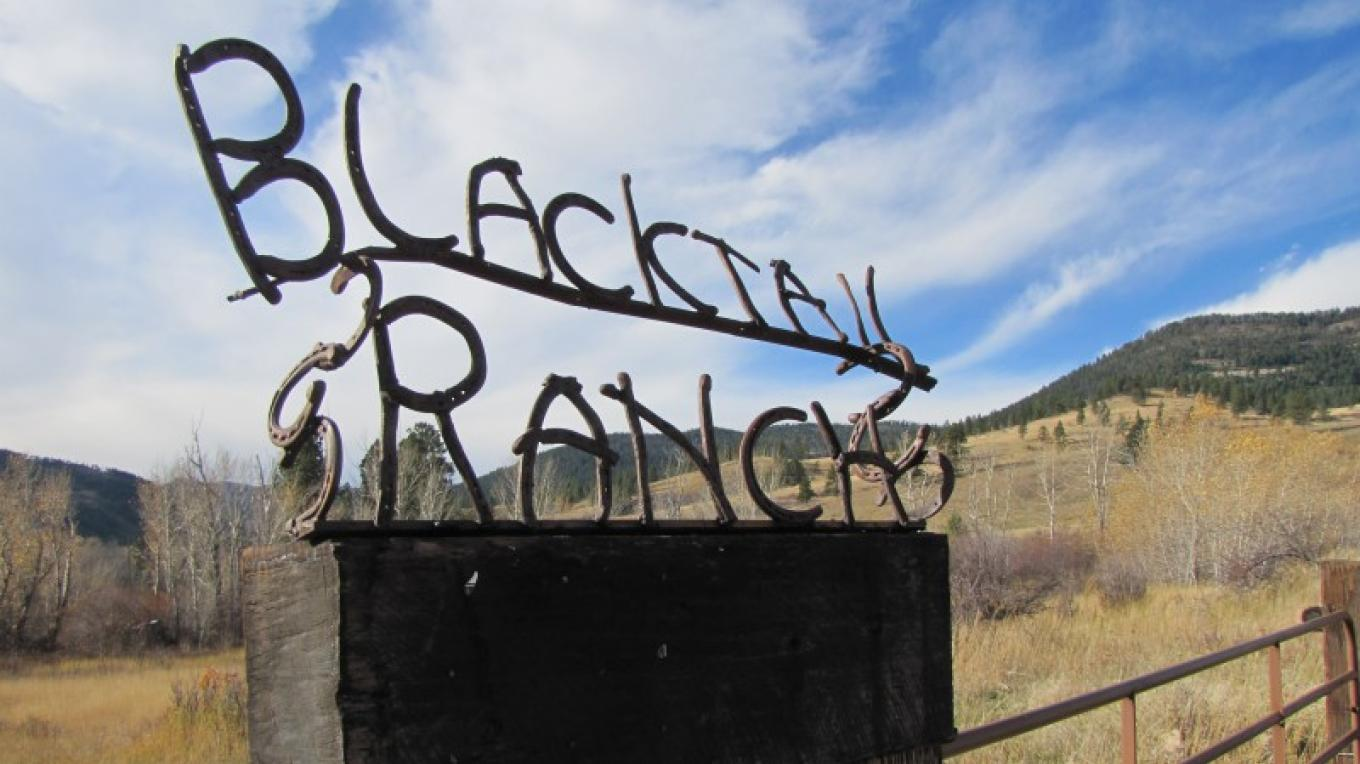 The Blacktail Ranch- Entrance – Sheena Pate