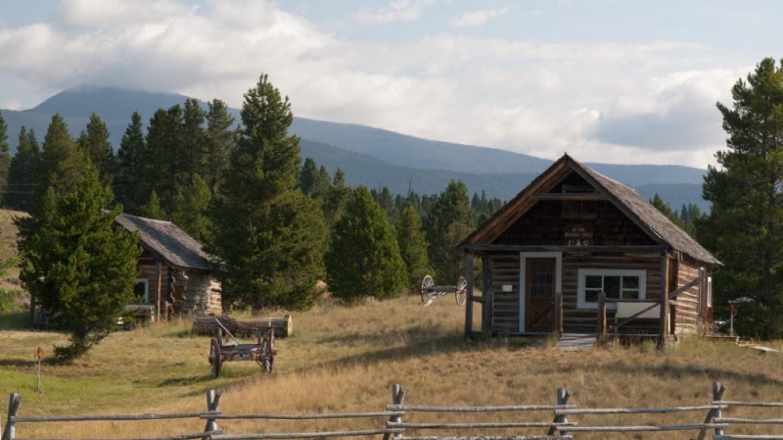 Upper Blackfoot Valley Historical Society interpretive site near Lincoln. – Roger M. Dey