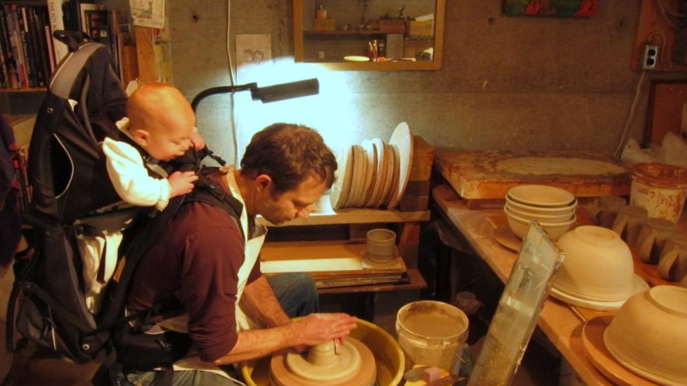 Noam Ash not only shares his talent with his daughter, but with all Culture Tourists on the second weekend in August. – Courtesy Columbia Basin Culture Tour