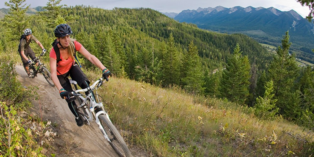 Mountain biking outside Fernie, B.C. – Mark Gallup