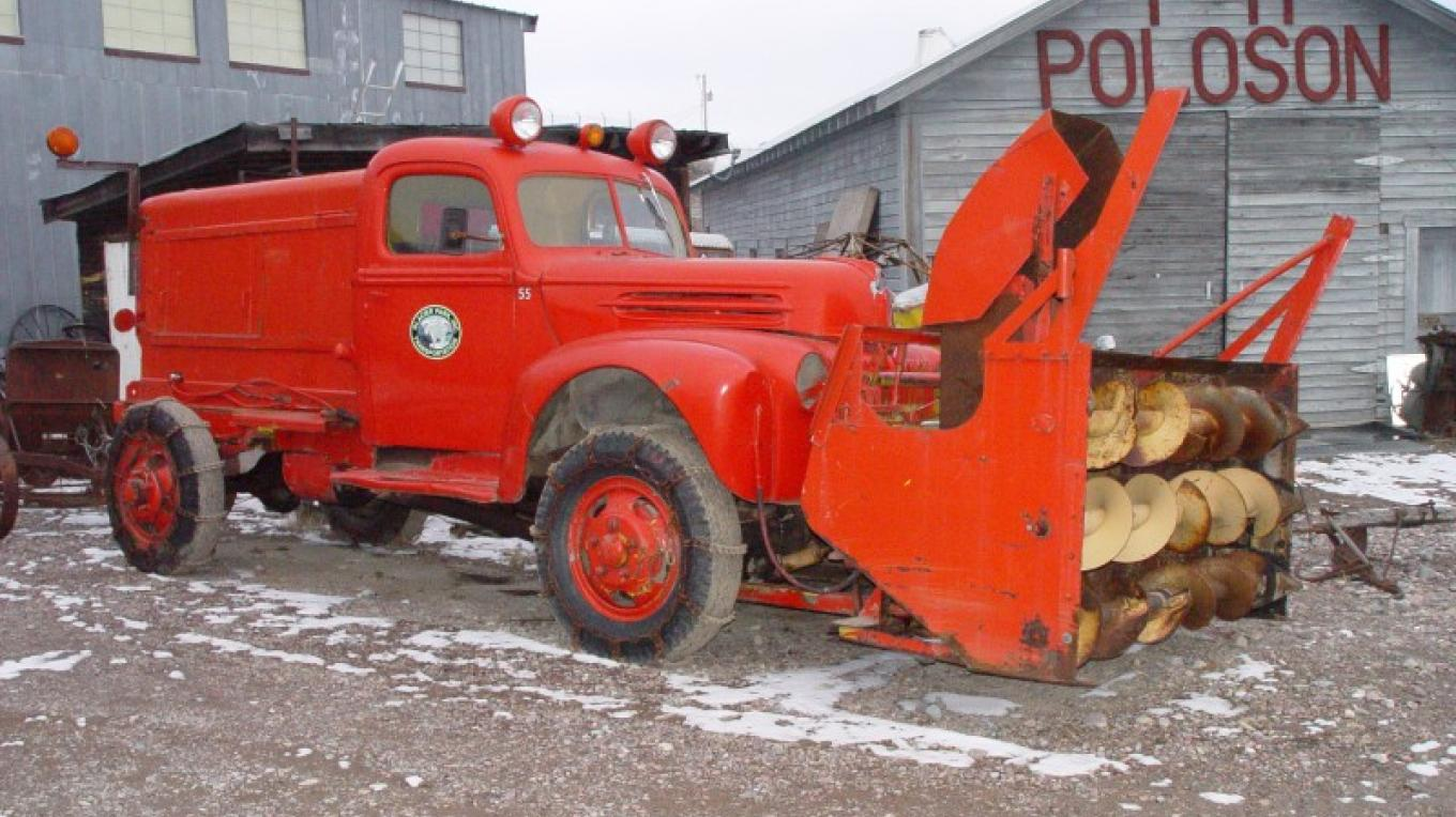 Glacier National Park Rotary Snowplow – Miracle of America Museum