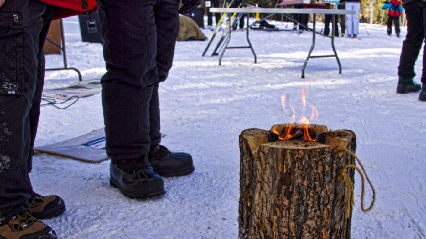 Flight of the Crows Loppet, February 19, 2011 Portable Fire Log – Alberta Tourism, Parks and Recreation