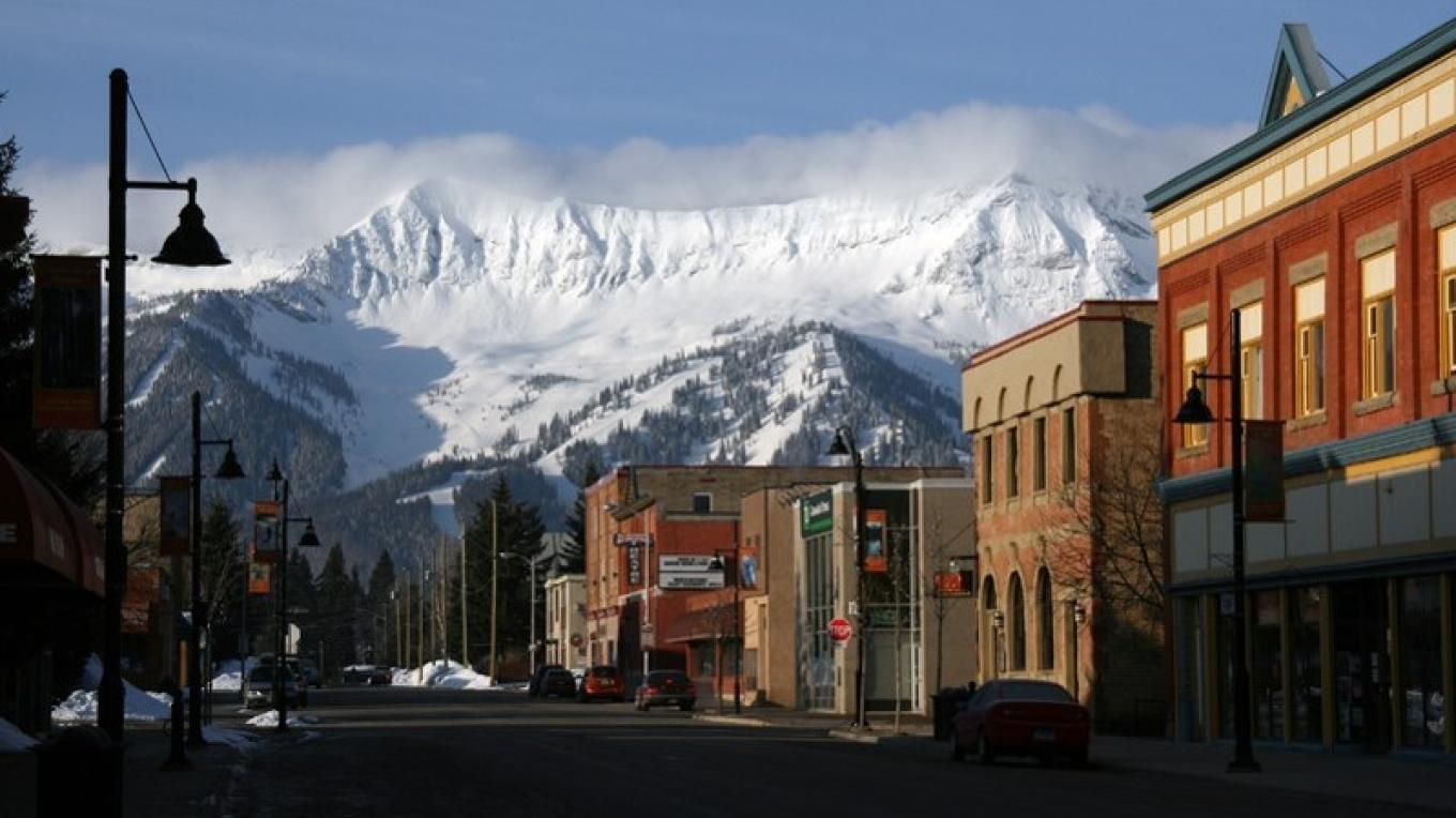 Downtown Fernie – David Thomas