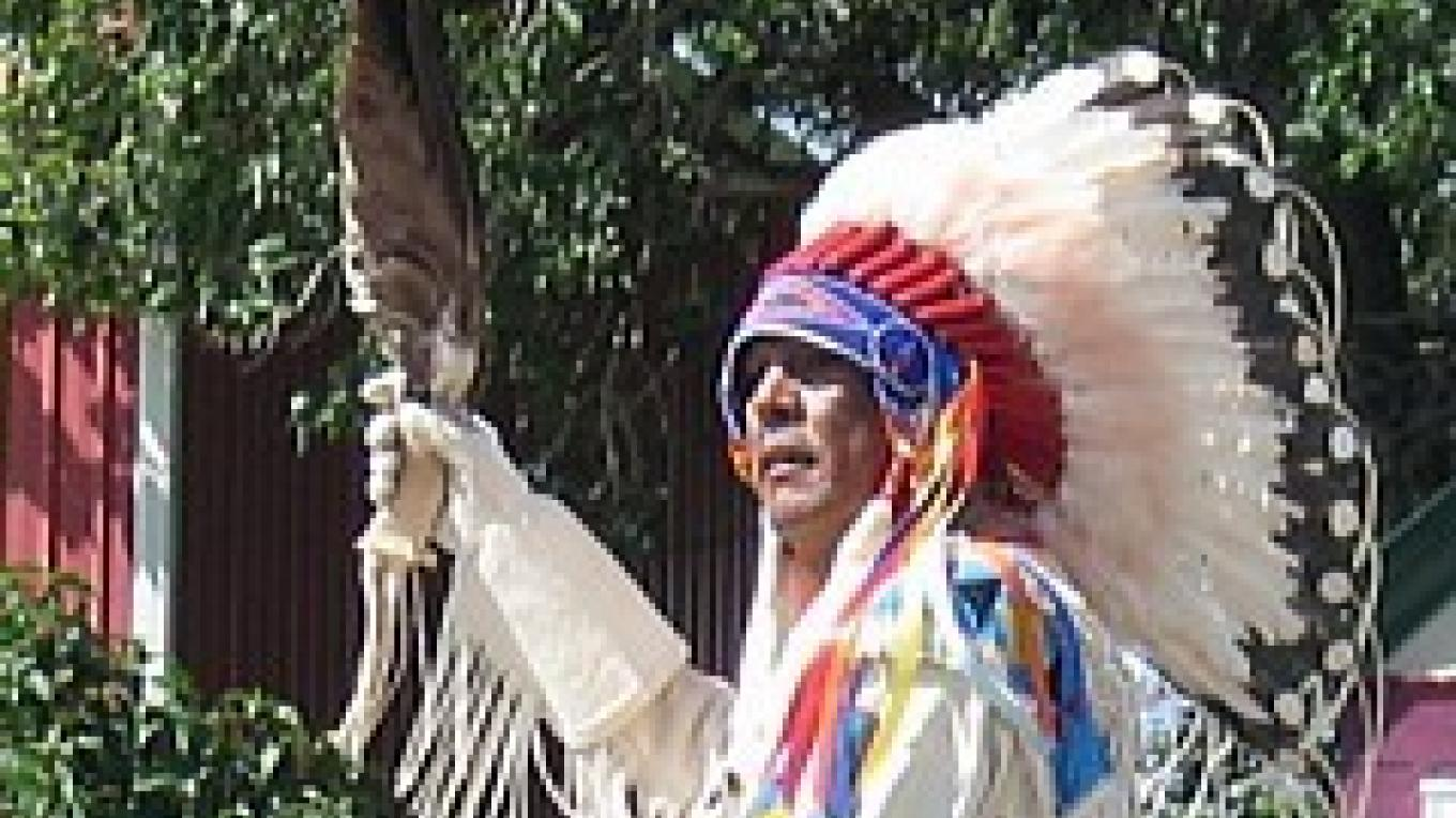 Blackfeet Elder, Mickey Running Fisher – Colleen\'s Computer Corner, LLC