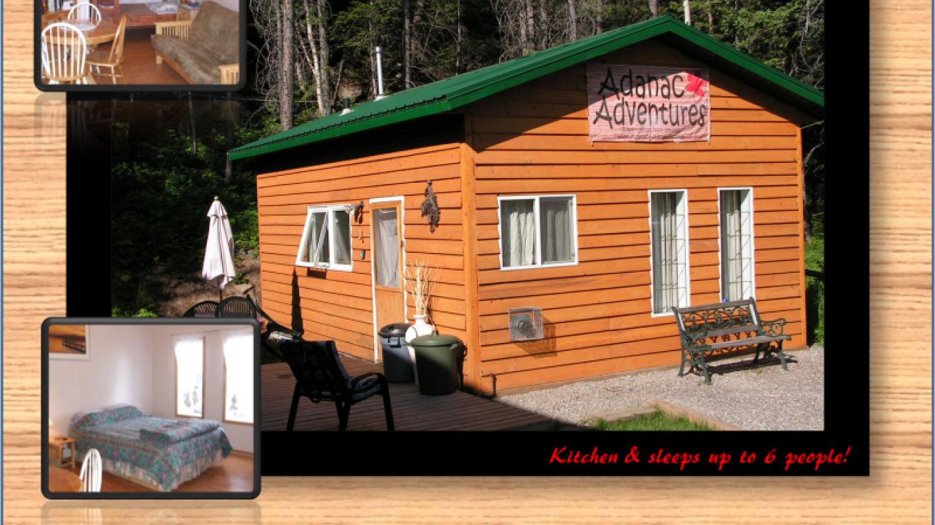 Adanac Adventures Cabins & Camping Bunkhouse Unit Picture – Val Gingrich