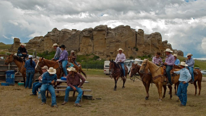 Cowboys and hoodoos. – Trevor Page