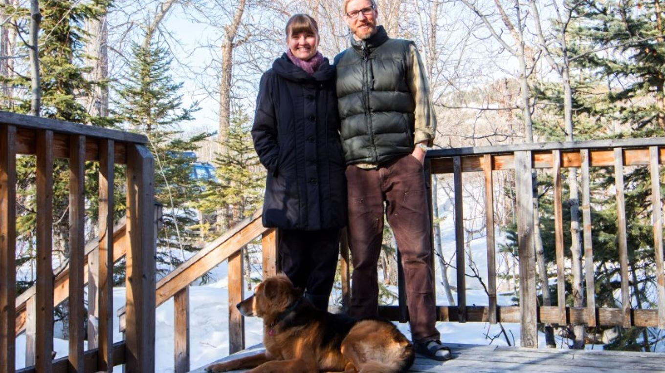 Kevin & Jolaine- Stepping Stone Cabins B&B Hosts – Sheena Pate