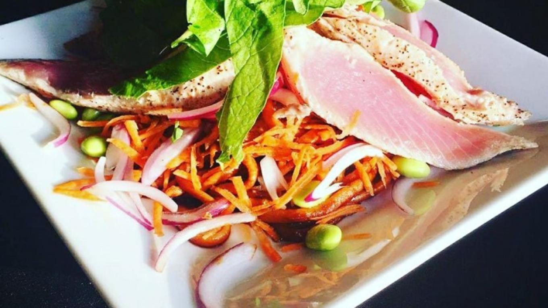 Fresh tuna provided by local fisherman – Matt Lazich