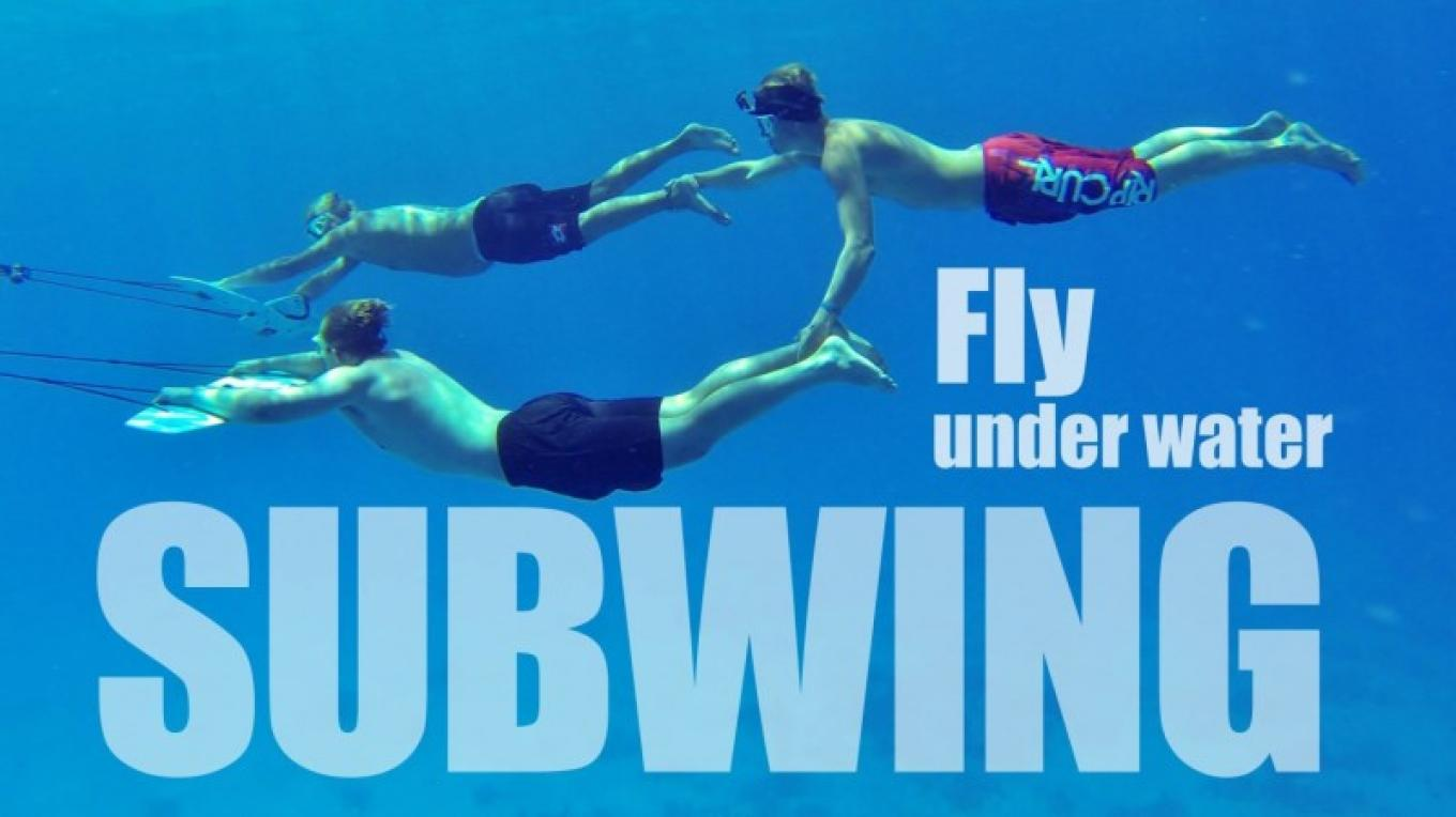 Discover the our newest watersport: Subwing underwater wing. Lessons are given, No experience needed. – The Venue Utila