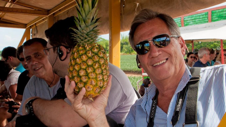 Pineapple from el Porvenir Atlantida – Photos by Evelyn Hullingshorst
