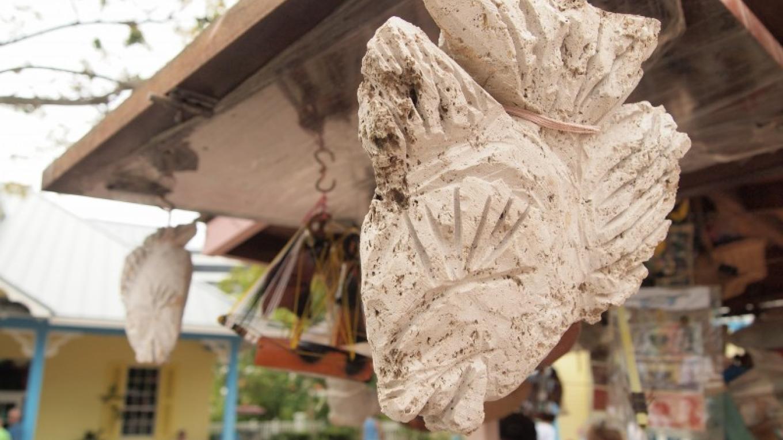 Pumice stone carvings. – Manlio Martinez
