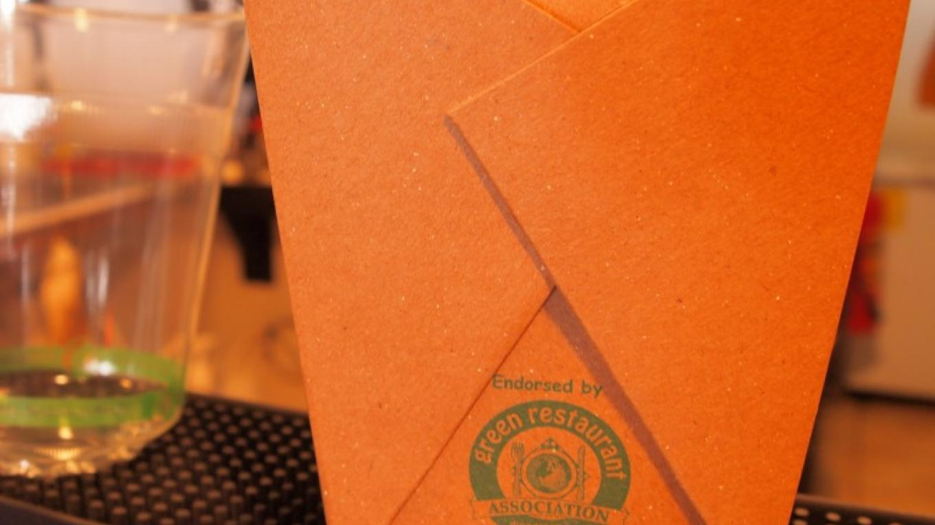Biodegradable packaging if you forget to bring your own! – Manlio Martinez