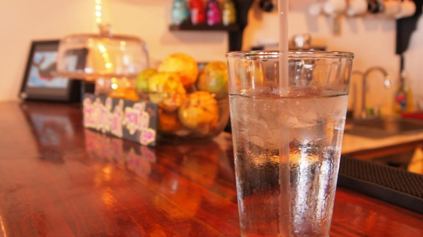 Cups of corn, we also no longer serve bottled water but offer refills and glasses. – Manlio Martinez