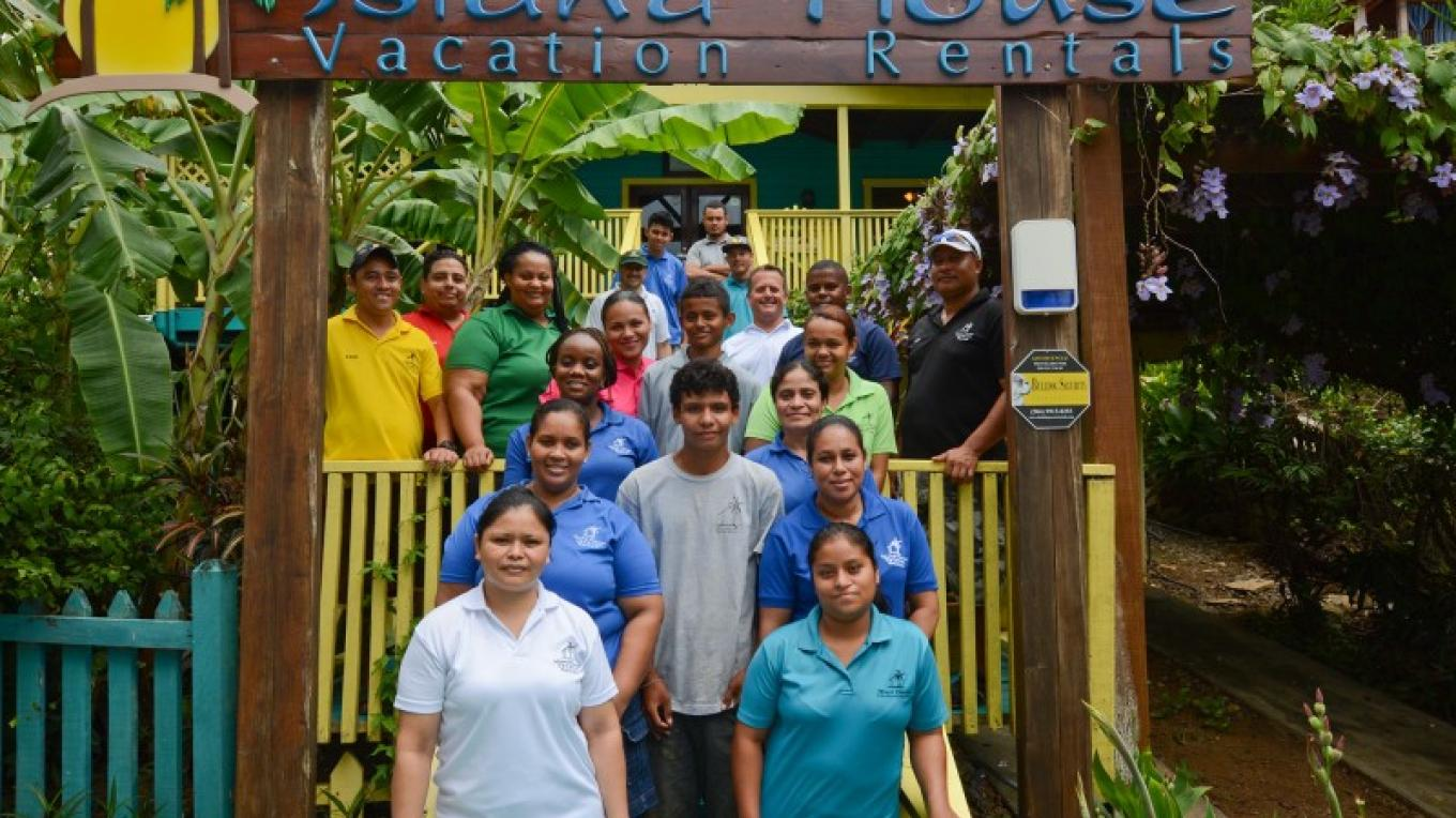 Our staff at Island House. – Ruth Healey-Elmore